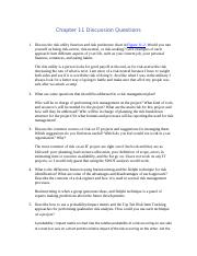 week7-assignment1-Chapter 11 Discussion Questions.docx