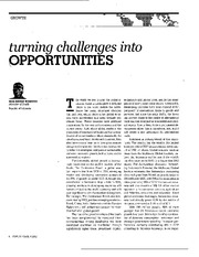 Turning challenges into opportunities