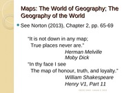 GEOG 1HA3 - Lecture 3,2014