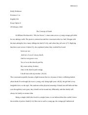 Critical Analysis Essay 1
