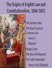 Origins of English Law and Constitutionalism-2 (1)