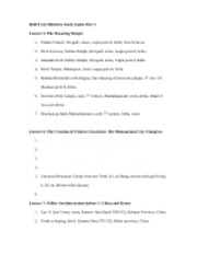 HART 122 Midterm Study Guide Part 3