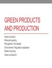 8 green product