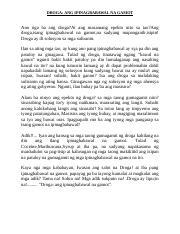 paggamit ng droga research paper