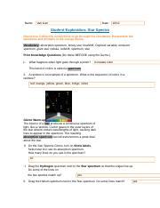 StarSpectra SE.rtf - Name Van Lian Date 10\/12 Student ...