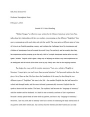 critique essay on social media esl section professor  3 pages journal 2