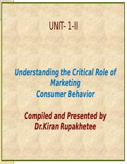 Unit 1-II-An Intoduction to Market and marketing-2