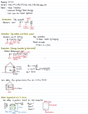 Lecture 4  Heat Transfer Internal Energy