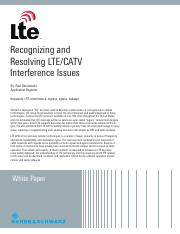 Denisowski - Whitepaper - Recognizing and Resolving LTE Interference Issues.pdf