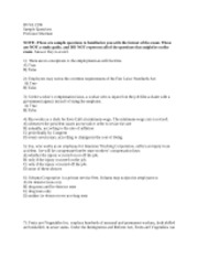 busa 2106 final exam notes Quizlet provides busa 2106 activities busa 2106 exam 2 lecture 1 contract law is derived from busa 2106 - final tort.