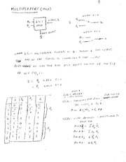 EE 3N03 Multipliers Notes