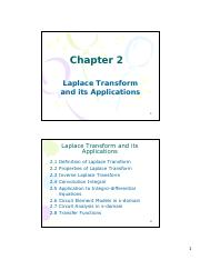 2.0 Laplace Transform and its Applications.pdf