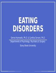 Ch8_Abnormal_Eating Disorders_Obesity_Sleep Wake Disorders_10_18_17.ppt