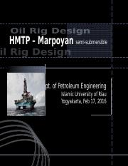 Offshore Engineering Specialisation NUS.ppt