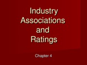 Chapter 4 Industry Associations & Ratings - Copy