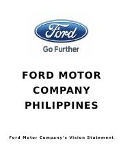 FORD MOTOR.docx