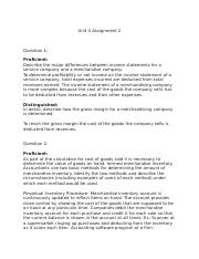 Unit 4 Assignment 2 accounting.docx