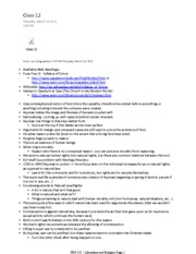 FRS 153_ Catholicism And Liberalism2 notes