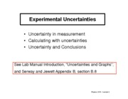 02-Experimental Uncertainties