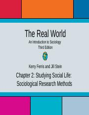 Ch 2 lecture slides the real world an introduction to sociology 26 pages trw3ch2 fandeluxe Image collections