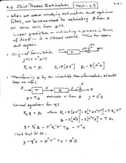 PHYS 321 Joint Process Estimation Notes