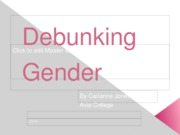 Debunking Gender Misconceptions
