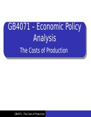 Lecture 1 - Costs of production.pptx