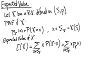 Lecture 8 on Expected Value