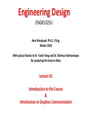 Lecture 1 engineering design