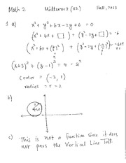 Midterm 2(V2) Solution