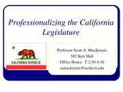 131010_Professionalizing_Legislature