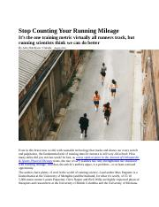 Stop Counting Your Running Mileage.docx