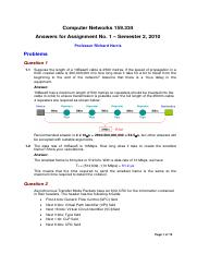 AnswersComputer Networks 159334_Assignment_1_2010.pdf
