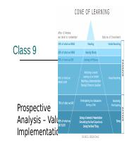 Class 9 Prospective Analysis Value Implement 2017.ppt