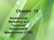 Lecture Slides Chapter 10