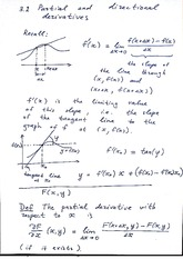 Lecture 3.2 Notes