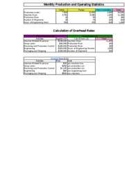 1c Wilkerson Company Quantitative Analysis Solution