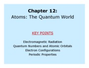 CH 301 - Chapter 12 part 1 Lecture Notes