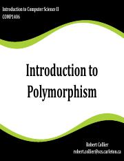 Introduction to Polymorphism).pdf
