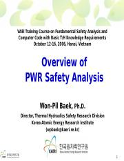 02_Mon_2_VAEI - Overview of PWR Safety Analysis.ppt