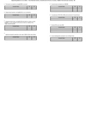 Ch 5 Journal Entries for Job Costing - worksheet & solution