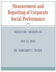 Day 4 Corporate Social Performance posted.ppt
