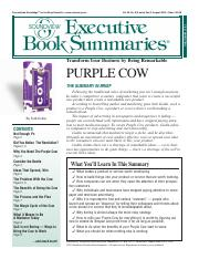 Summary - Purple Cow.pdf
