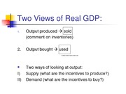 Lecture 3 A Simple Theory The Production Function