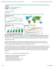 EIA projects world energy consumption will increase 56% by 2040 - Today in Energy - U.S. Energy Info