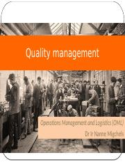 2015 OML college 9  quality management .pptx