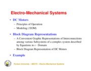 ME375_ElectroMechanical