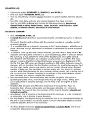 Disaster Log and Summary Instructions-2