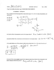 EECS 384 Mid-Term SOLUTIONS, 2012