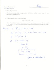Exam 1 Day 2 Form A Solution